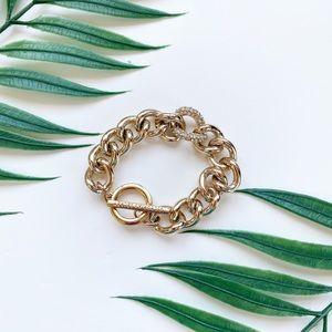 Victoria's Secret Limited Edition Gold Bracelet